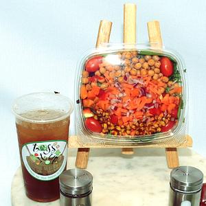Toss It Up Salad - BBQ Chickpea