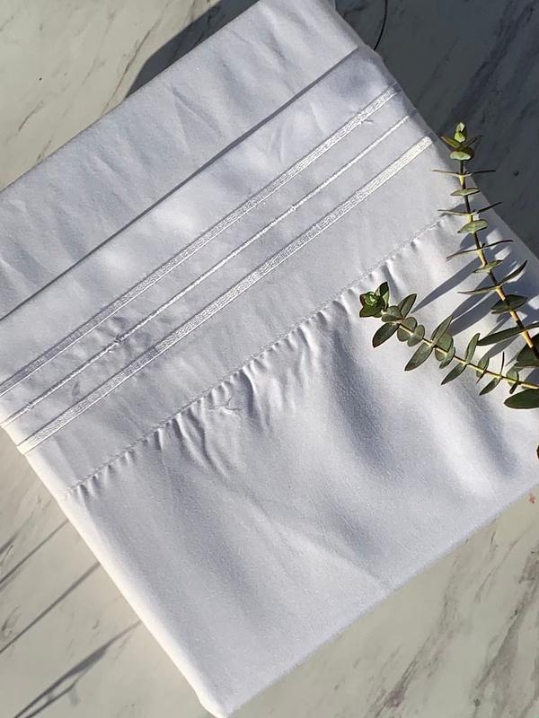 Heavenly White 1500 Thread Count Linen
