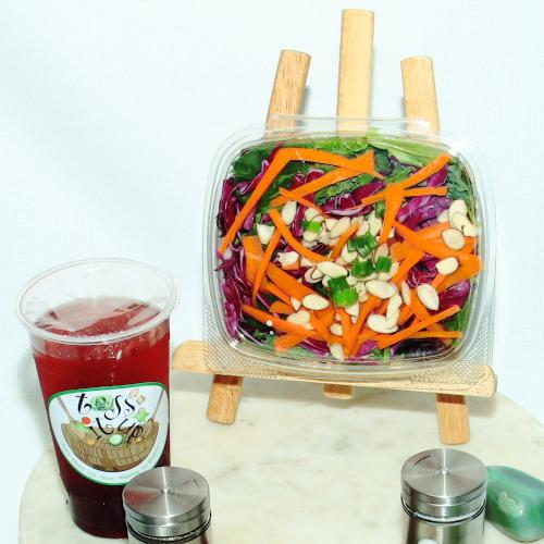 Toss It Up Salad - Crunchy Wonton