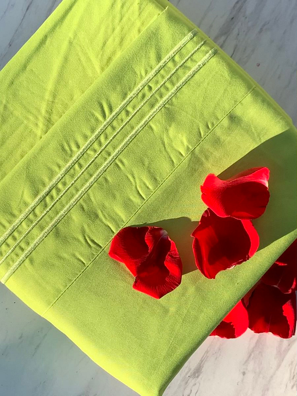 Fresh Spearmint 1500 Thread Count Linen