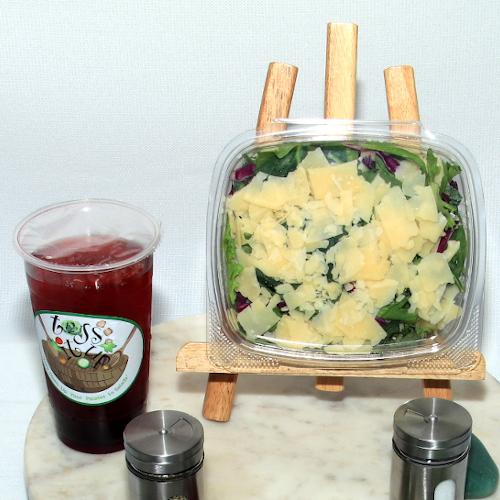 Toss It Up Salad - Keep It Safe Caesar Salald