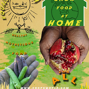 Crop Swap LA - Farmer Hands - Magnet