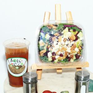 Toss It Up Salad - Apple Cranberry Walnut Salad