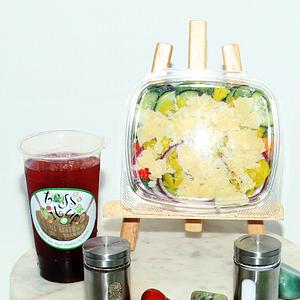 Toss It Up Salad - Mediterranean Caesar Salad